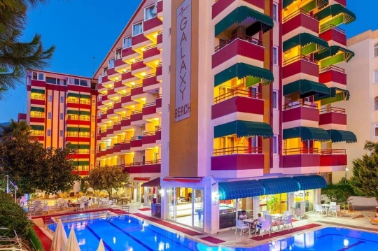 Хотел GALAXY BEACH HOTEL ALANYA 3+*
